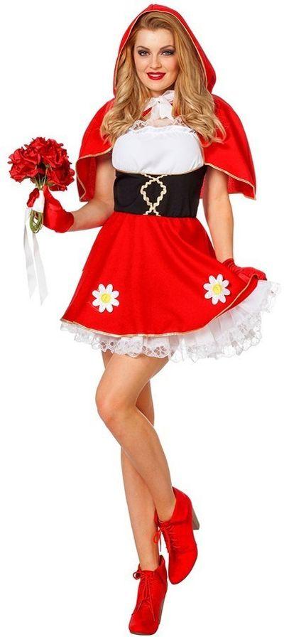 Roodkapje jurk - Luxe