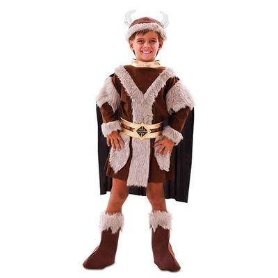 Foto van Viking kostuum jongen