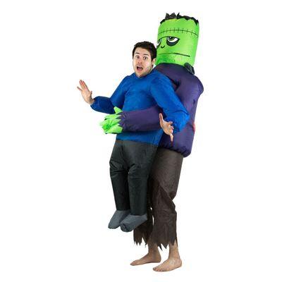 Foto van Frankenstein carry me kostuum