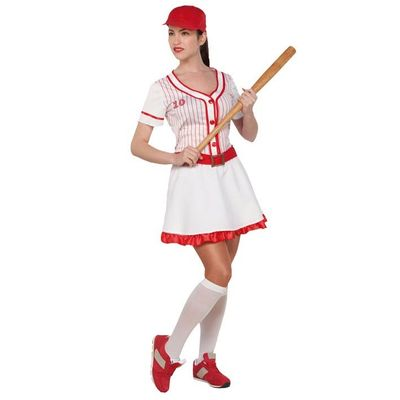 Foto van Honkbal kostuum - Dames