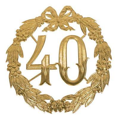 Jubileumcijfer 40