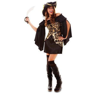 Piraten jurkje - Goud