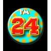 Afbeelding van Button 24 jaar