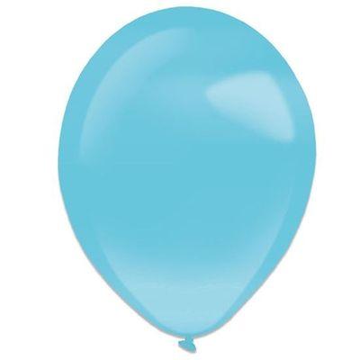 Ballonnen caribbean blue pearl (28cm) 50st