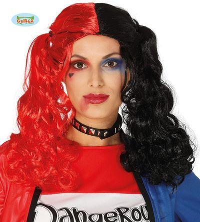 Pruik Harley Quinn
