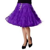 Onderrok tiroler jurk paars