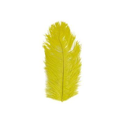 Struisveer 28-32 cm geel