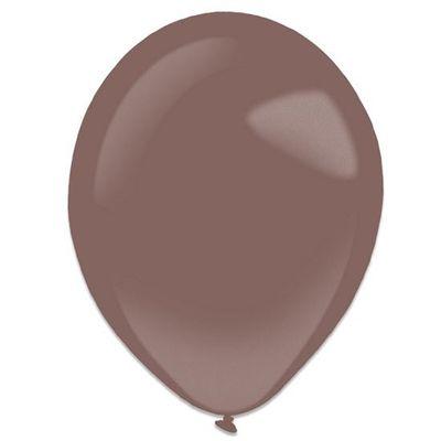 Ballonnen burgundy metallic (35cm) 50st