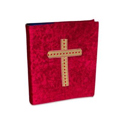 Sinterklaas boekomslag met kruis