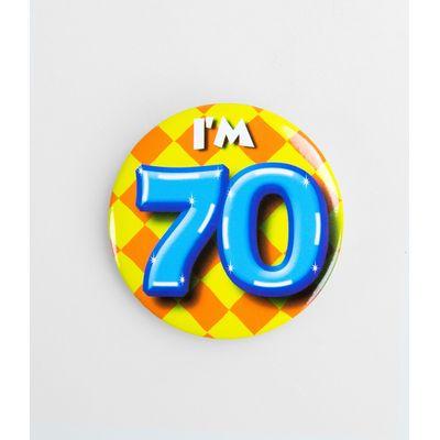 Foto van Button 70 jaar