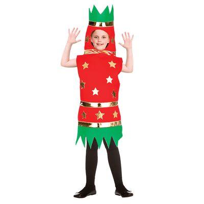 Foto van Christmas Cracker kostuum kind