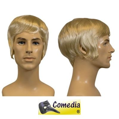 Theaterpruik heren kort blond