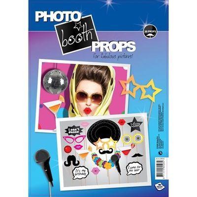 Foto van Photo booth props party (20 stuks)