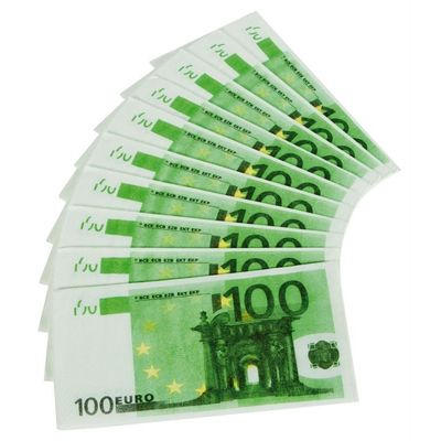 Foto van Servet 100 Euro/10stk
