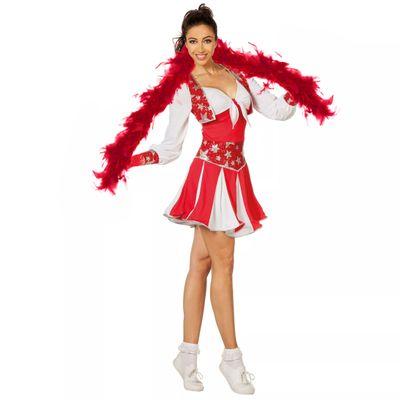 Koorddanseres jurk - rood
