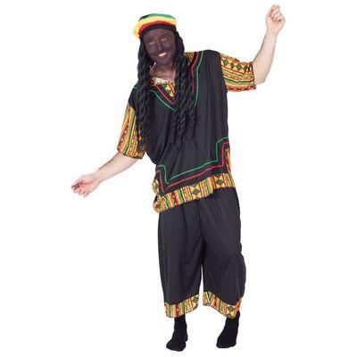 Foto van Bob Marley kostuum