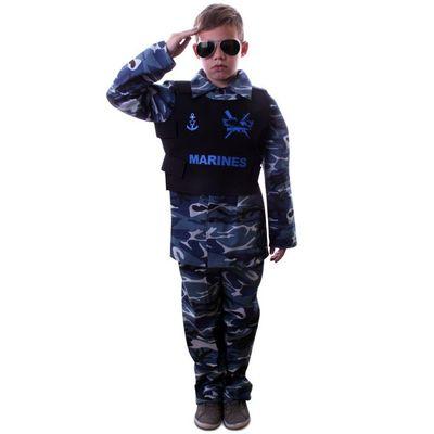 Foto van Marine camouflage kostuum jongens