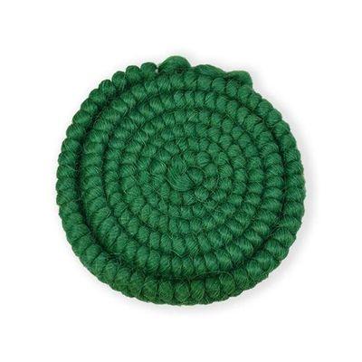 Wolcrêpe groen