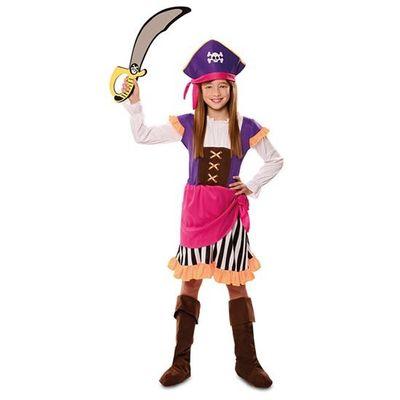Foto van Piratenjurk meisje