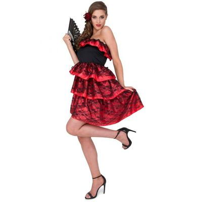 Foto van Spaanse jurk met kant