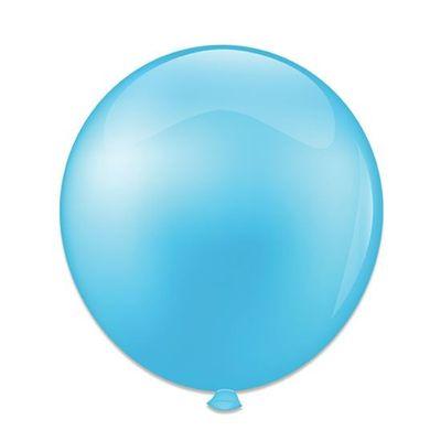 Foto van Ballonnen babyblauw (61cm)