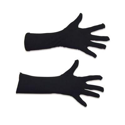 Foto van Zwarte handschoenen 40 cm