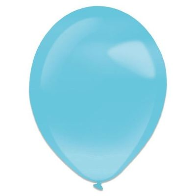 Ballonnen Caribbean blue pearl (35cm) 50st