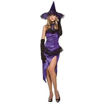 Heksen jurk - paars