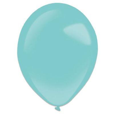 Ballonnen robin egg blue (35cm) 50st