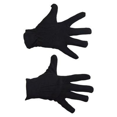 Handschoenen zwart katoen