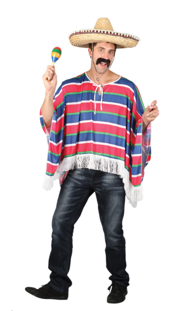 Poncho Mexicaan