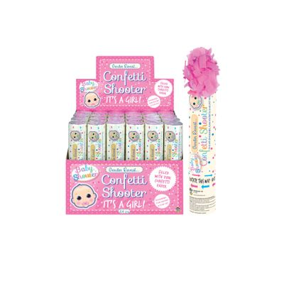 Confetti Gender Shooter Roze