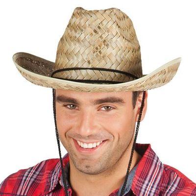 Foto van Cowboyhoed van stro