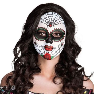 Foto van Masker Mrs. Day of the Dead