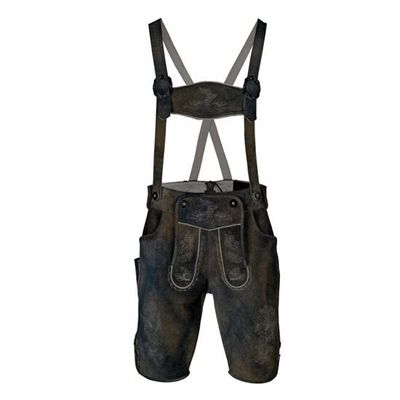 Foto van Lederhosen luxe faded grey