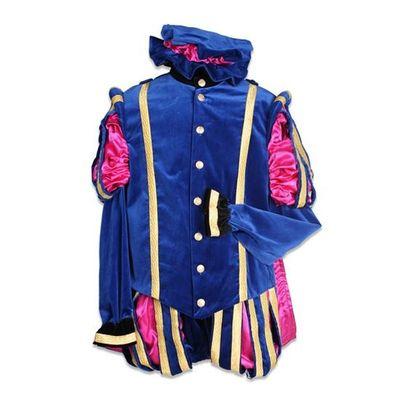 Pietenpak wellespiet blauw/roze