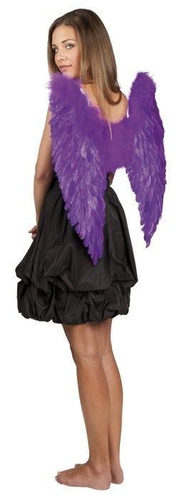 Afbeelding van Engelen vleugels paars