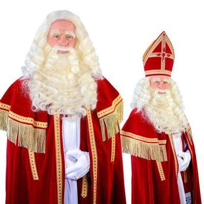 Sinterklaas baard TV-Sint buffel(Yak)deluxe tule 34.106