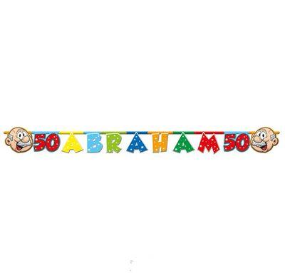Letterslinger Abraham regenboog