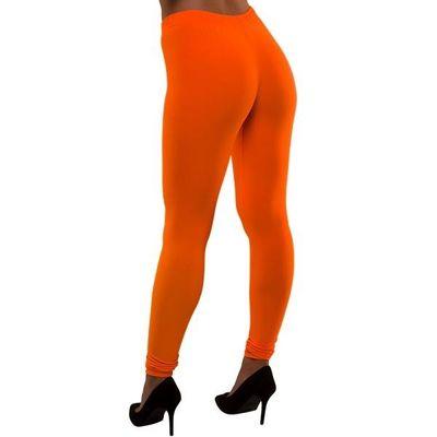 Neon legging oranje