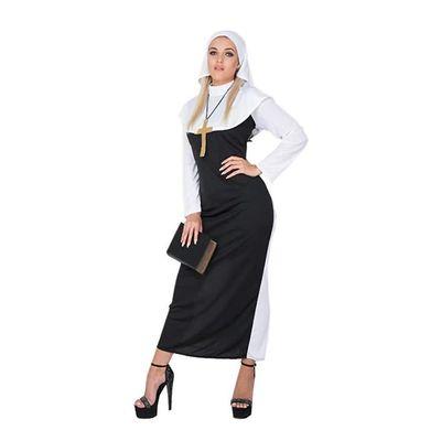 Foto van Nonnen kostuum wit