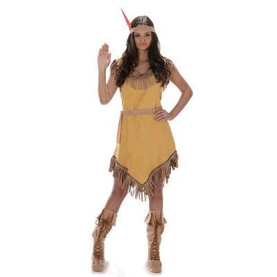 Foto van Pocahontas jurk luxe