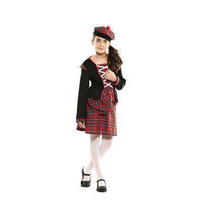 Foto van Schots kostuum meisje