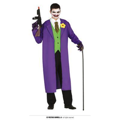 Foto van The Joker kostuum paars