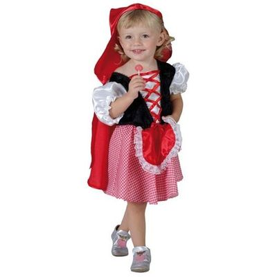Foto van Roodkapje kinder kostuum