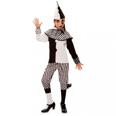 Foto van Pierrot kostuum kind