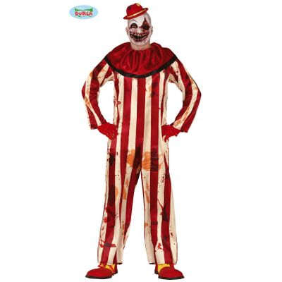 Foto van Horror clown kostuum