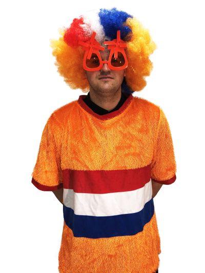 Oranje T-shirt Nederlandse vlag
