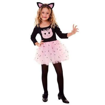Katten kostuum meisje