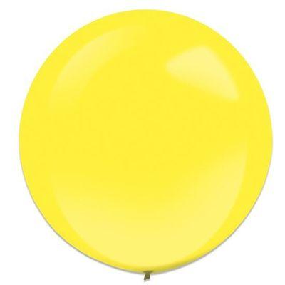 Ballonnen yellow sun (60cm) 4st